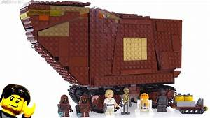 LEGO Star Wars Sandcrawler 2018 set review! 75220 - YouTube