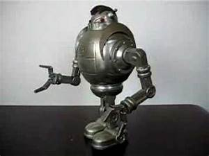 ZATHURA tin toy robot by Schylling - YouTube  Toy
