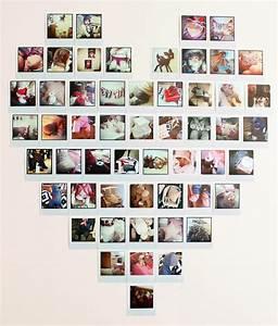 Photo Pele Mele Sur Toile : diy saint valentin faire un p le m le photo marie claire ~ Teatrodelosmanantiales.com Idées de Décoration