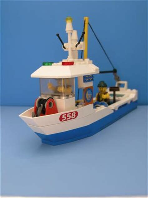 Lego Underwater Boat Motor by Moc Fishing Boat Pirate Version Lego Town