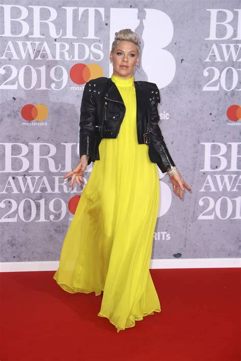 In Pink by Pink At Brit Awards 2019 In 02 20 2019 Hawtcelebs
