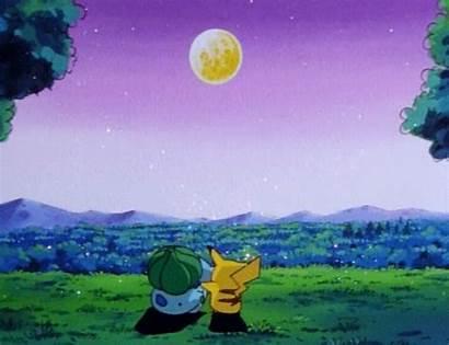 Pokemon Anime Pikachu Bulbasaur Animated Pixel Backgrounds