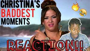 BGC9 Christina Baddest Moments REACTION!! - YouTube