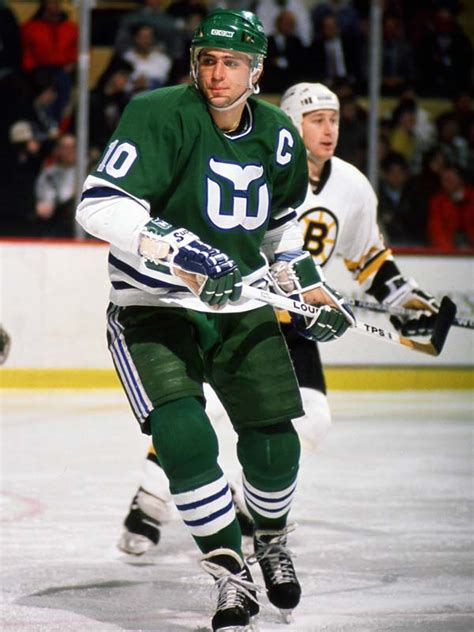 ron francis hartford whalers white louisville game