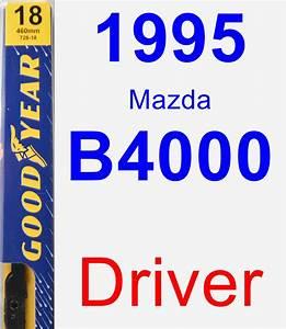 1995 Mazda B4000 Driver Wiper Blade - Premium