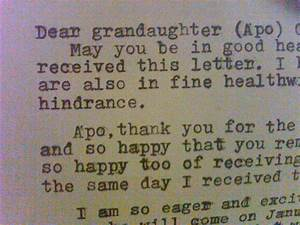 sample graduation letter to granddaughter just bcause With letter to grandma from granddaughter