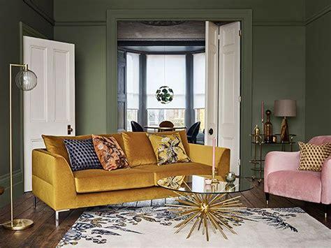 mustard yellow sofa living room pinterest   top
