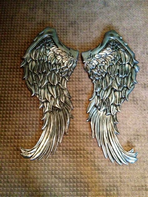handmade wings wall decor wood carving by nevermore creations custommade com