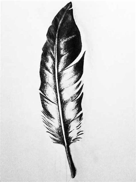 50 Fotos de Tatuagens de Pena e Significados