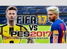 FIFA 17 vs PES 2017 Gameplay + Trailer Doovi