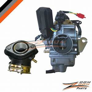 26mm Carburetor Intake Manifold Kit For 150cc Chinese Atv