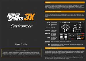 Supersports 3x Racing Wheel Guide