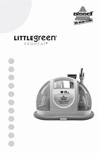 Bissell Little Green Proheat 14259 Owner U0026 39 S Manual