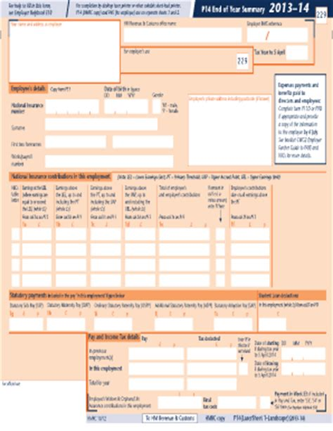 employee time sheets template hmrc p14 fill online printable fillable blank pdffiller