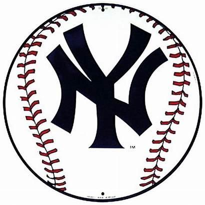 Yankees York Clipart Ny Baseball Sign Team