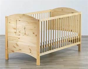 Lit Bois Bebe : lit bebe bois massif ~ Teatrodelosmanantiales.com Idées de Décoration