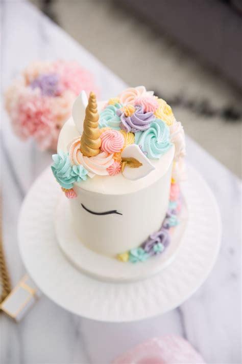 kuchen rezepte eine einhorn torte selber machen und weitere design ideen