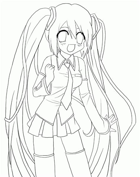 miku hatsune anime pictures 16 pics of vocaloid anime miku coloring pages anime miku