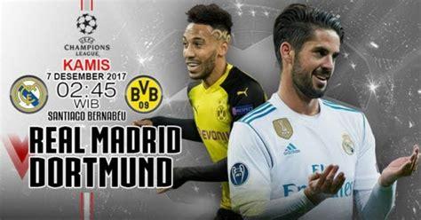 Prediksi Pertandingan dan Skor Real Madrid vs Borussia ...