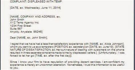bit  life complaint letter  employee poor