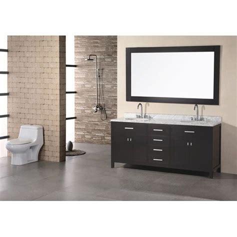 london 72 inch espresso double sink vanity set master