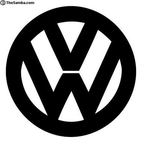 Volkswagen Logo Black And White