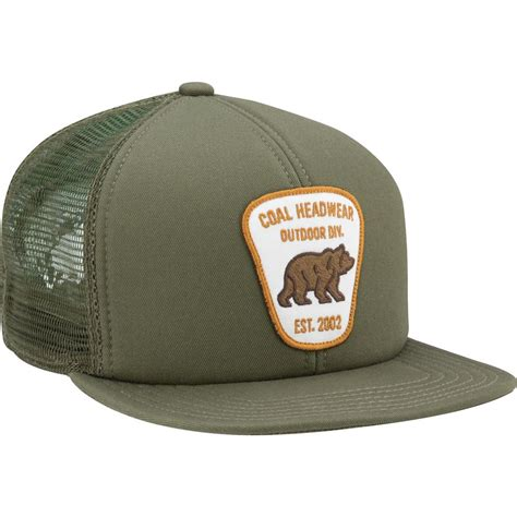 bureau hat coal bureau trucker hat backcountry com