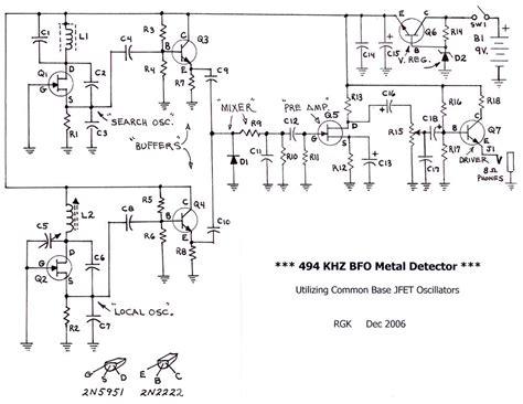 Bfo Metal Detector Beat Frequency Oscillator