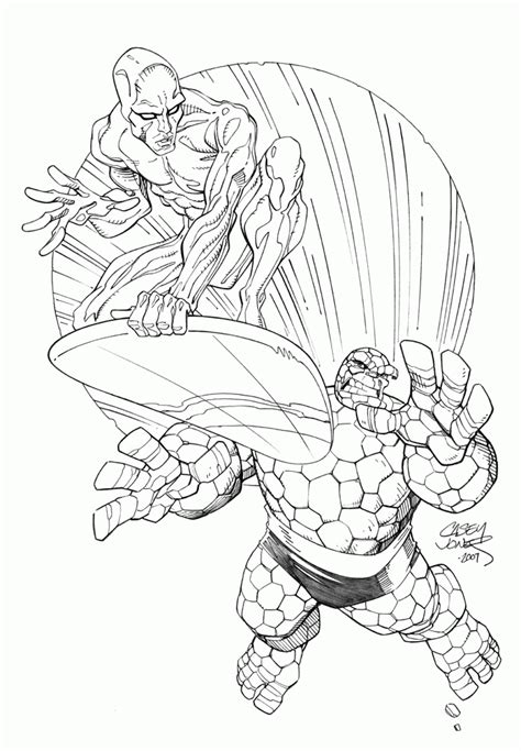 silver surfer coloring pages coloring home