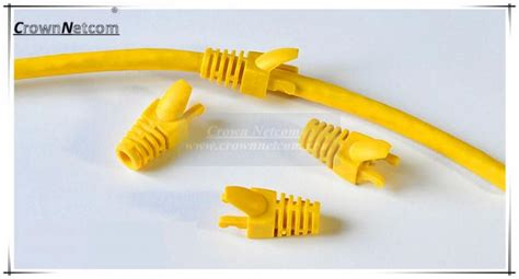 colors pvc cable boots caps  network cate rj