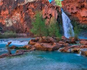 Havasu, Falls, Arizona, Usa, Desktop, Wallpaper, Backgrounds