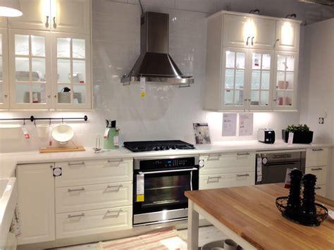 fa軋de cuisine ikea ikea bodbyn white cabinets kuchyně ikea ikea kuchyně ikea a