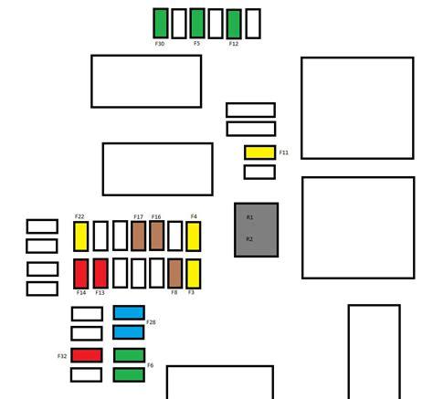 Citroen C3 Fuse Box Layout by Citroen C4 Mk2 From 2011 Fuse Box Diagram Auto Genius