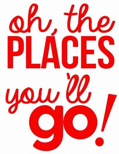 Seuss Dr Places Quotes Oh Printables Youll