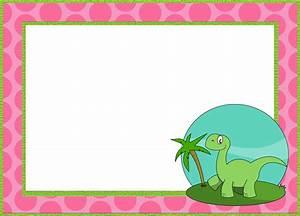 Dinosaurs Birthday Invitations Printable 6 Printable Invitation Templates For A Dinosaur Birthday