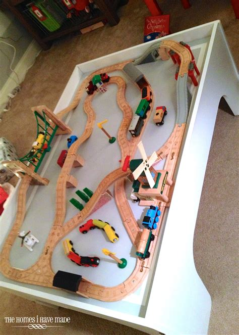 Getting It Right A  Ee  Train Ee    Ee  Table Ee   Makeover Story Part I