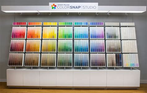 brandchannel color my world sherwin williams debuts a new colorsnap paint system