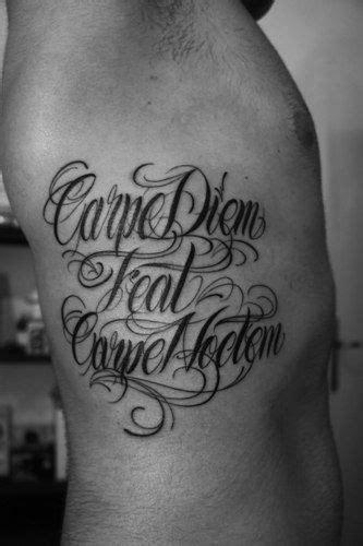15 Best Carpe Diem Tattoo Designs with Meanings   Tattoo designs, meanings, Tattoo lettering