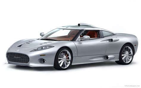 Spyker C8 Widescreen Wallpaper