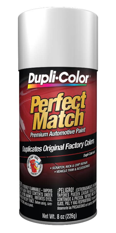dupli color auto spray paint duplicolor s universal white auto touch up spray paint