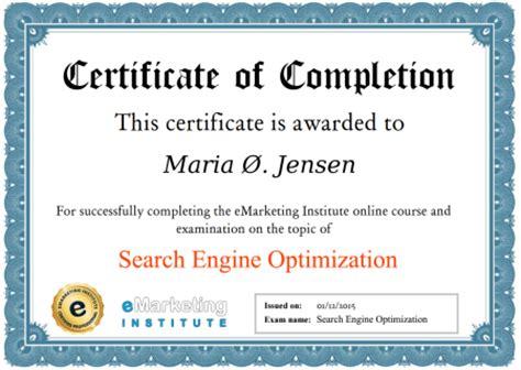 seo certification marketing course 100 free seo certification free ebook and free seo course