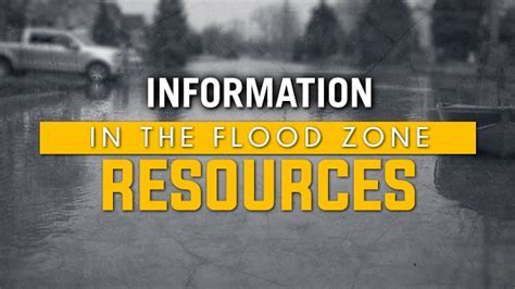 In The Flood Zone: Resources   CTV Ottawa News