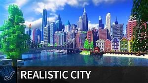 Minecraft - Huge Realistic  U0026quot Patriotville U0026quot  City