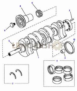 Crankshaft  U0026 Bearings - 2 25 Petrol
