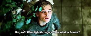 Romeo Monologue Balcony Scene by Romeo And Juliet Gifs Find Amp Share On Giphy