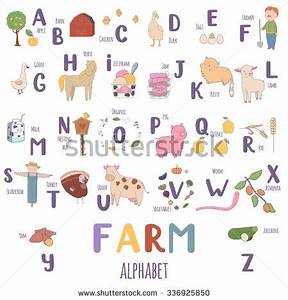 Stock images royalty free images vectors shutterstock for Farm alphabet letters