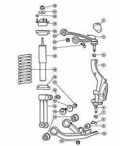 2004 Chrysler Strut Diagram