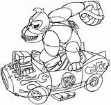 Kong Donkey Mario Kart Arcade Draw Drawing Machine Coloring Pages Koopa Template Throwing Nintendo Shell Step Easy sketch template