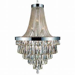 Confortable large foyer chandeliers for your classic home