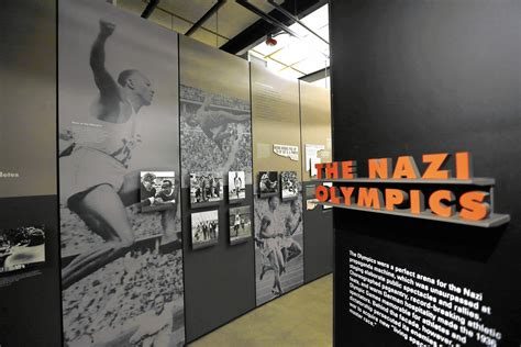 place  games nazi olympics opens  illinois